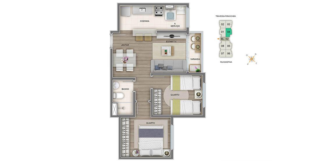 Apartamento Tipo Final 04
