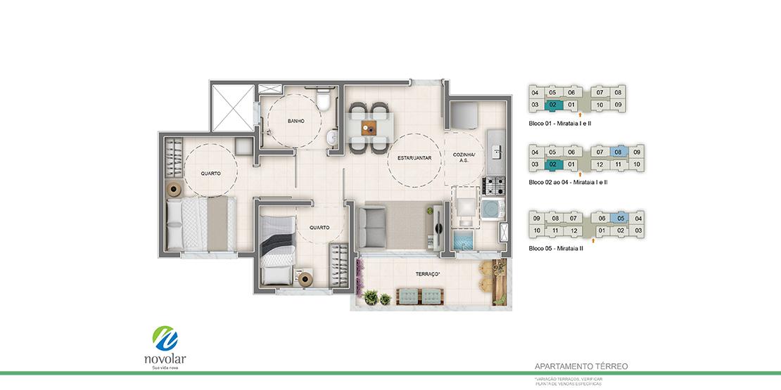Apartamento PNE