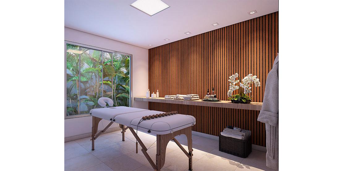 Espaço massagem
