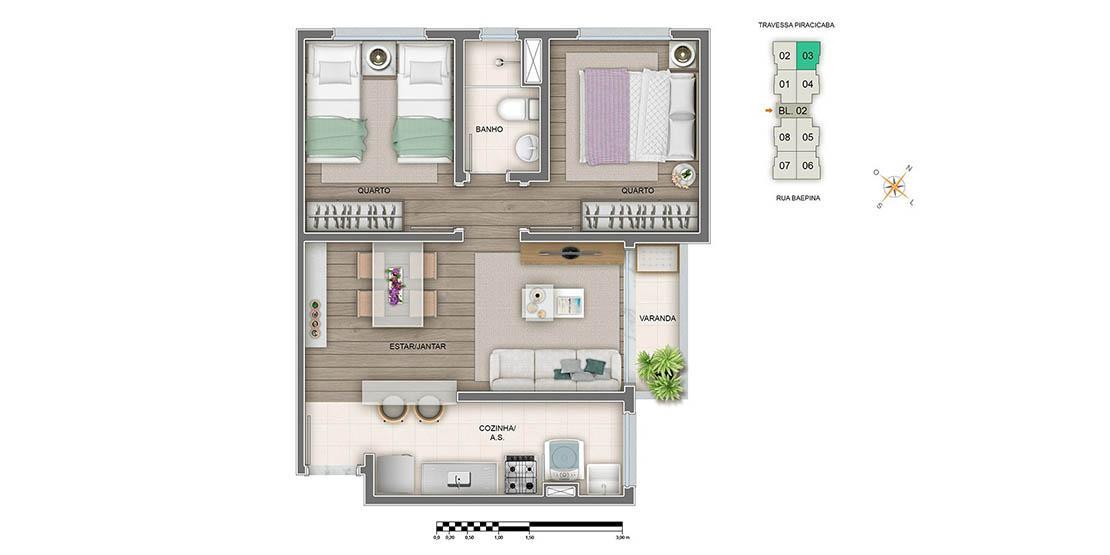 Apartamento Tipo Final 03