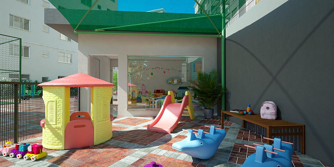 Playground com sombrite