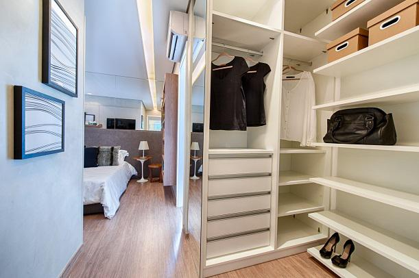 Apartamento Decorado - Closet Suite