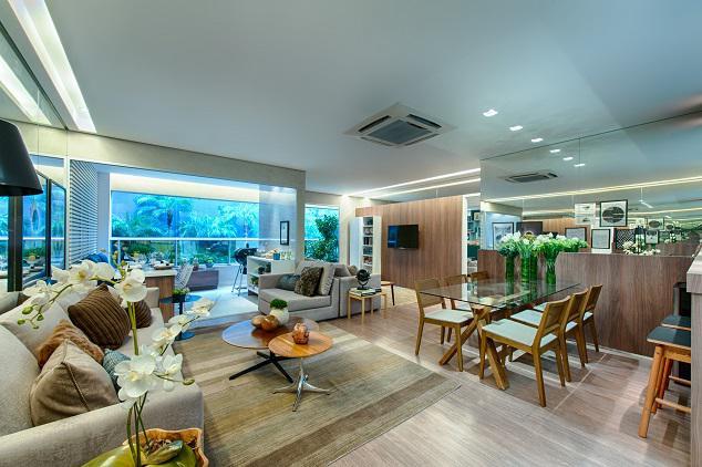 Apartamento Decorado - Sala e Varanda