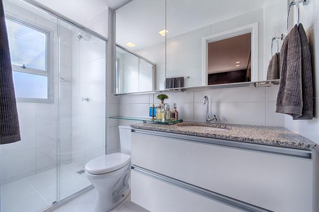 Apartamento Decorado - Banheiro Suite