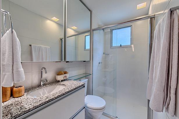 Apartamento Decorado - Banheiro Social