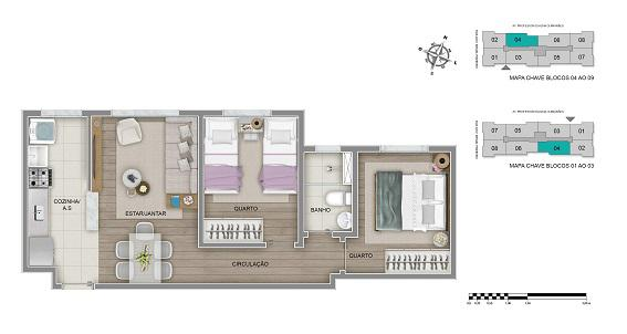 Apartamento Tipo - Final 04