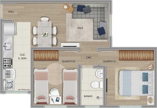 Apartamento Tipo - Final 08