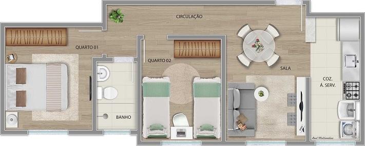 Apartamento Tipo - Final 06