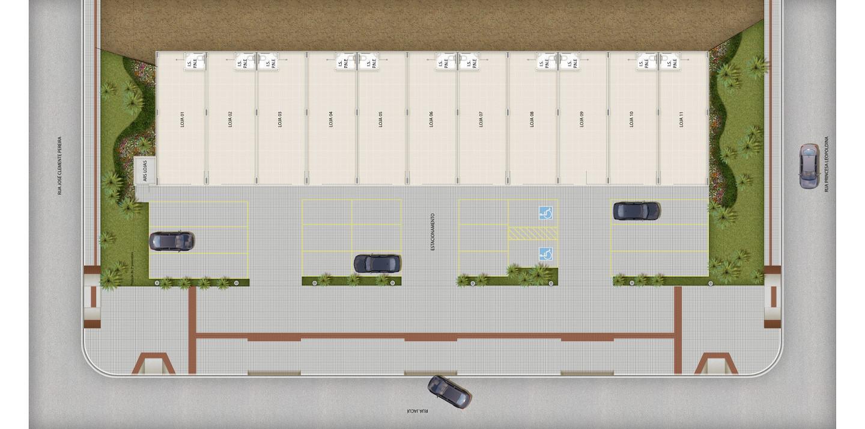 2º pavimento - edifício garagem