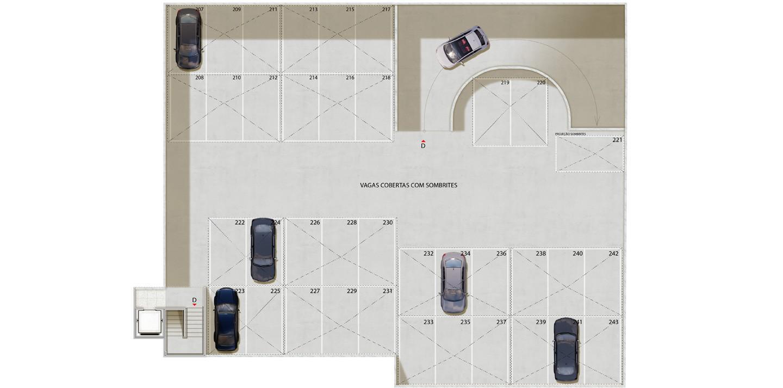 5º pavimento - edifício garagem