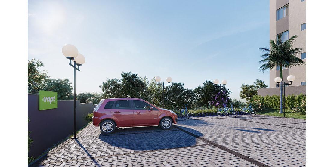 VAPT: carro exclusivo para aluguel no condomínio